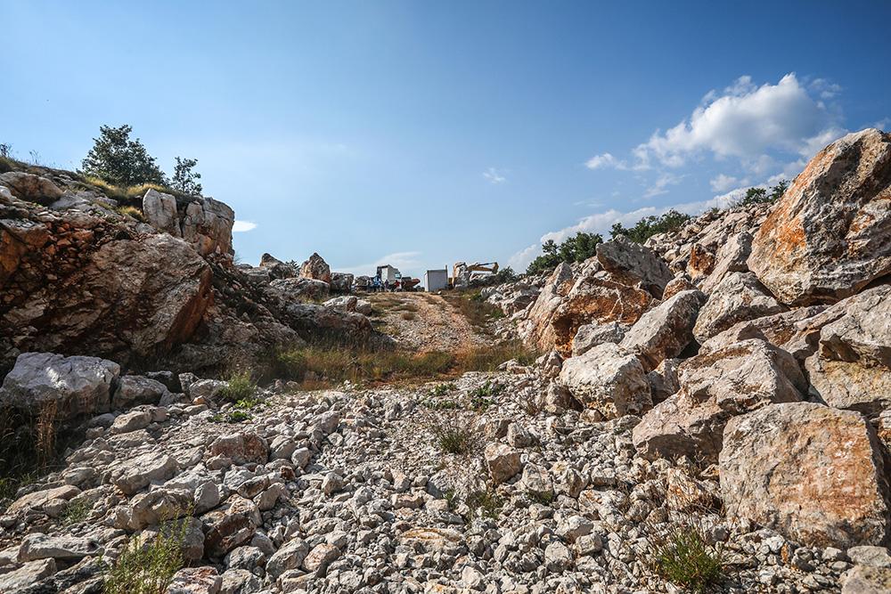 Quarry in Osoje
