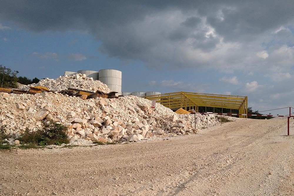 Quarry in Bosiljna