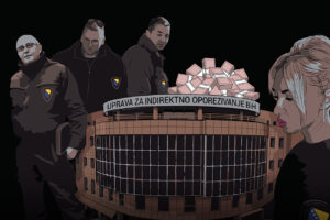 Inspektori UIOBIH Jelena Majstorović, Radenko Popović Pop, Vladimir Puzić i Stevo Savić