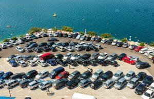 Neum, glavni parking